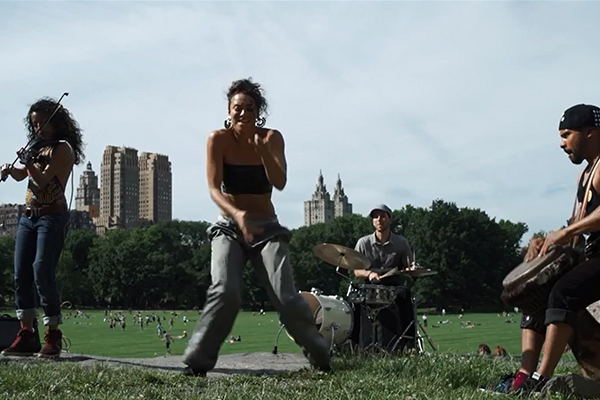 Neguin & Secada in Central Park